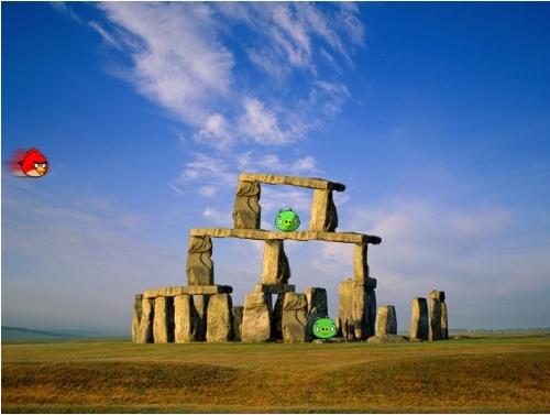 Stonehenge-Angry Birds