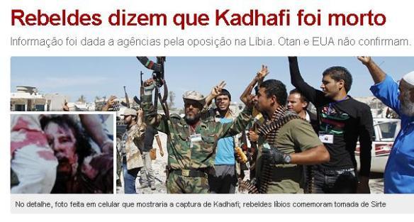 Kadhafi Morto