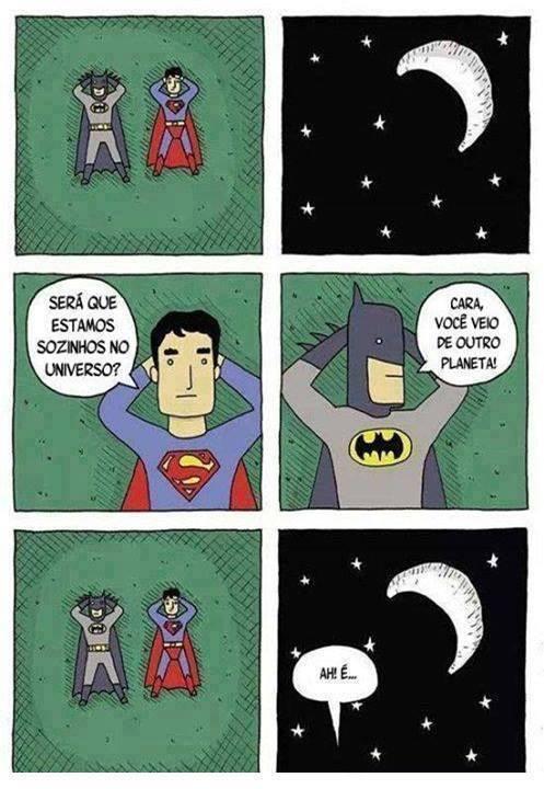Será Bruce? Será Clark? Eu acho que não!